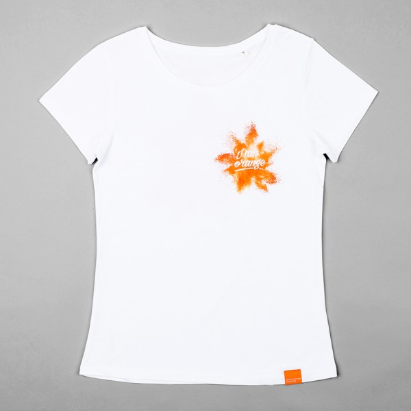 Damen T-Shirt - I am orange